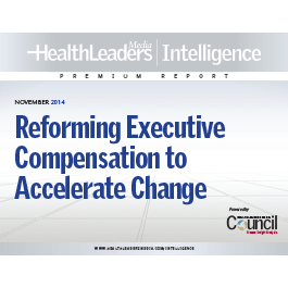Reforming Executive Compensation to Accelerate Change