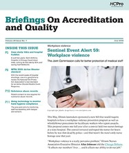 Briefings on Accreditation and Quality 072018