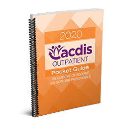 2020 ACDIS Outpatient Pocket Guide