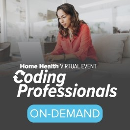 Coding Professionals: Home Health Virtual Event
