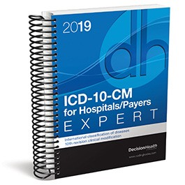 2019 ICD-10-CM Expert for Hospitals/Payers