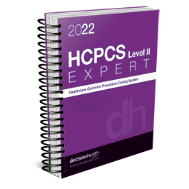2022 HCPCS Level II Expert