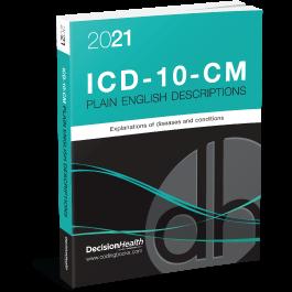 2021 Plain English Descriptions for ICD-10-CM