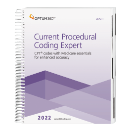 2022 Current Procedural Coding Expert – Expert