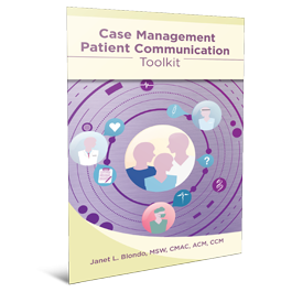 Case Management Patient Communication Toolkit