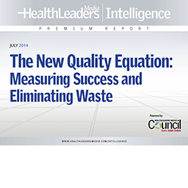 The New Quality Equation: Measuring Success and Eliminating Waste