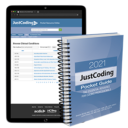 2021 JustCoding Pocket Guide
