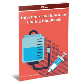 JustCoding's Injections and Infusions Coding Handbook (Pack of 5)