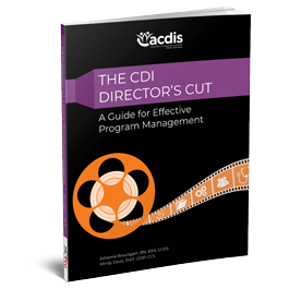 The CDI Director's Cut: A Guide for Effective Program Management
