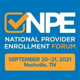 National Provider Enrollment Forum