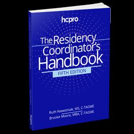 The Residency Program Coordinator's Handbook, Fifth Edition