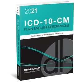 2021 Plain English Descriptions for ICD-10-CM