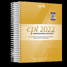 AMA CPT® 2022 Professional Edition