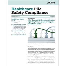 Healthcare Life Safety Compliance