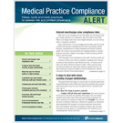 Medical Practice Compliance Alert